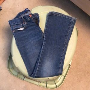 Girls Old Navy boot cut jeans size 10